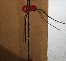 Штроба для укладки кабеля