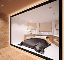 Проект спальни на 2 этаже